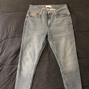 Zara Man Denimwear Gray Jeans 34